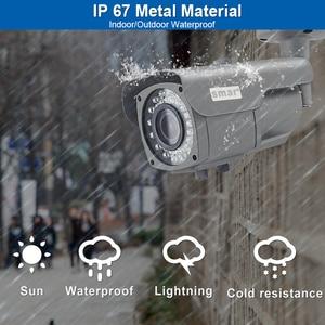 Image 2 - Smar Onvif Security HD IP Camera 720P 960P 1080P  Outdoor Waterproof CCTV Bullet Camera 4X Zoom 2.8 12mm Manual Varifocal lens
