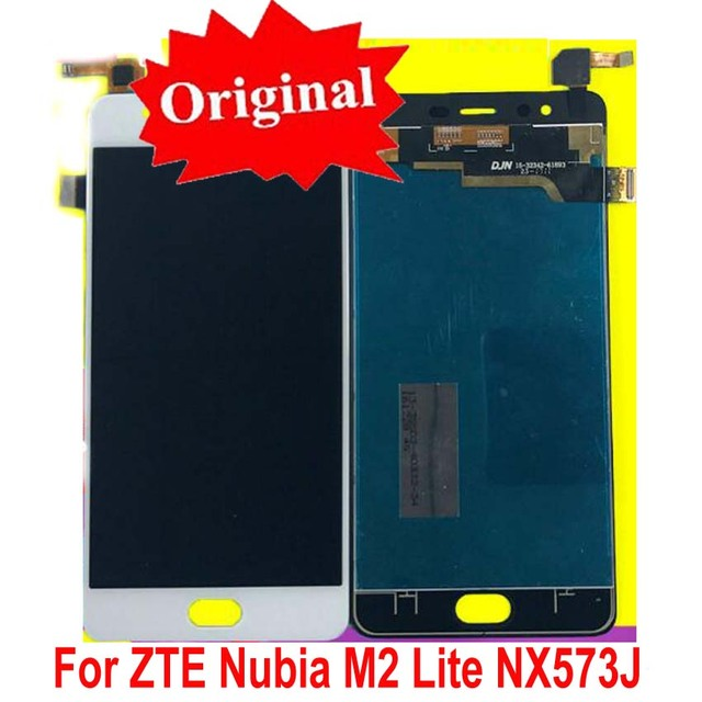 Best Quality Original LCD Display Touch Screen Digitizer Assembly For ZTE Nubia M2 Lite / M2 Youth NX573J Phone Sensor Parts