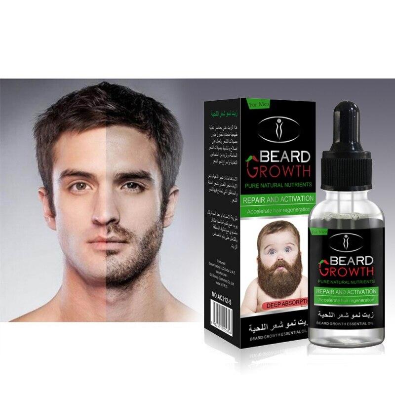 Профессиональный Для мужчин рост бороды Enhancer лица Питание усы расти борода формирование Средство Ухода За бородой продукты ...