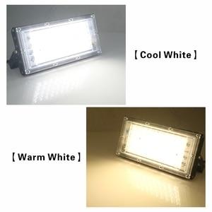 Image 3 - 4pcs/lot 50W Led Flood Light AC 220V 230V 240V Outdoor Floodlight Spotlight IP65 Waterproof LED Street Lamp Landscape Lighting