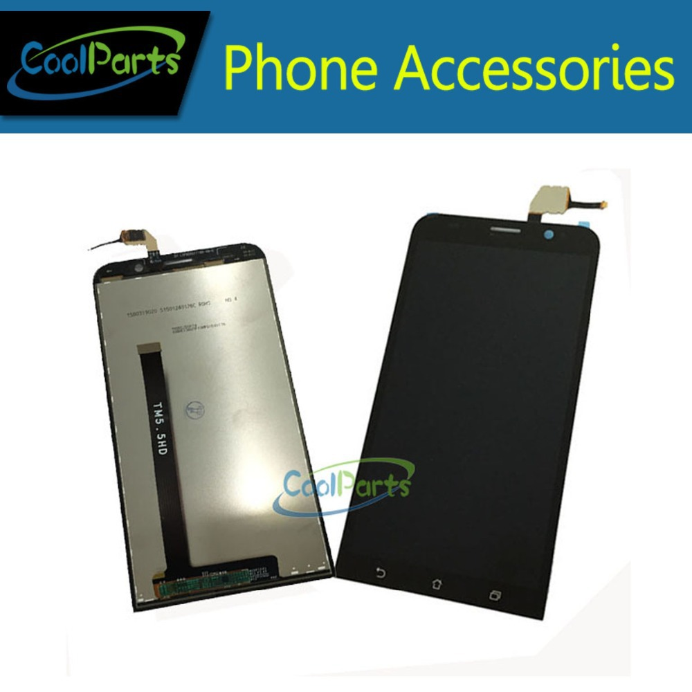 Подробнее о Black  For Asus ZenFone 2 ZE500CL ZE550KL ZE550ML ZE551ML LCD Display and Touch Screen Digitizer Assembly 1PC/Lot Free Shipping black replacement part for asus zenfone 4 lcd display and touch screen digitizer assembly 1pc lot free shipping
