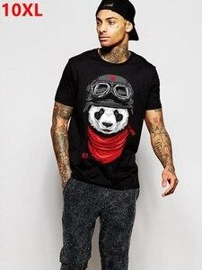 Image 1 - plus size fat clothing mens  short sleeve 8xl o neck lycra cotton short sleeve t shirt Short sleeve T shirt 155 cm chest