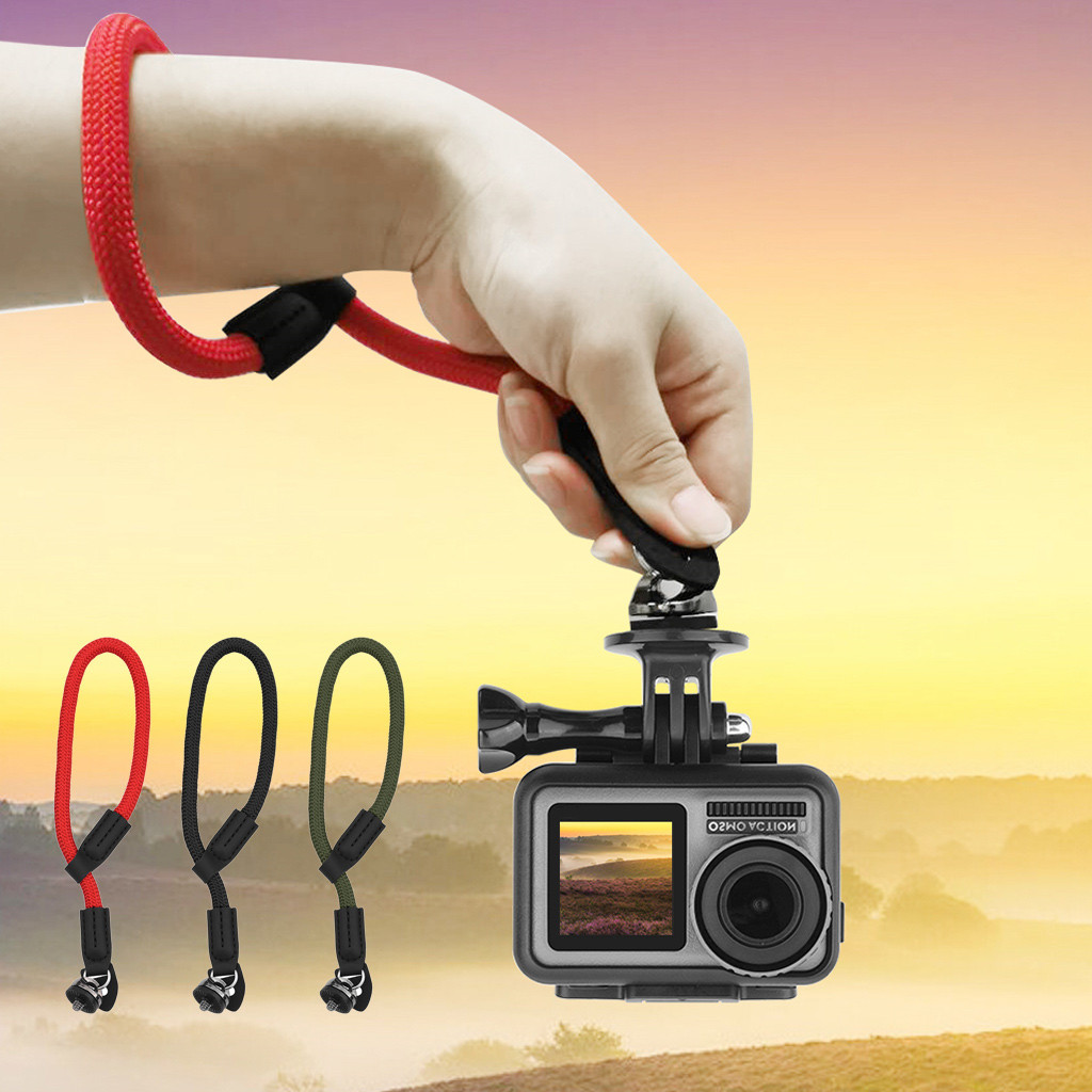 Portable Suitable Charging Safety Wrist Strap Hand Strap Lanyard Belt Grip Sling  For DJI OSMO ACTION convenient and practical-in Parts & Accessories from Toys & Hobbies