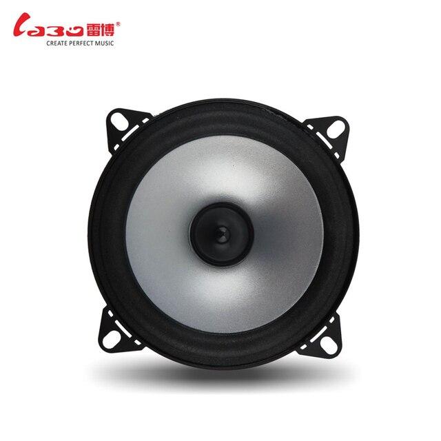 2 pcs Paper 12V 4ohm cheap car speakers 4 inch 60W Full Range horn loudspeaker Car HiFi Speaker Bubble Gum Edge Speaker