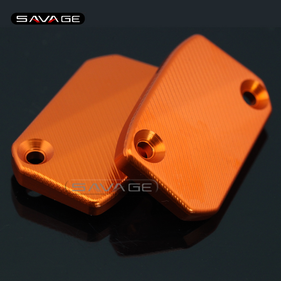 For KTM 250/350/450 SXF SX EXC-F 2009-2016 Motorcycle Front Brake Clutch Cylinder Fluid Reservoir Cover Cap silencer exhaust protector can cover for ktm exc f exc sx f 450 sx f 350