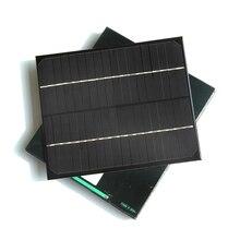 BUHESHUI Epoxy 6W 18V Solar Panel 6Watt Monocrystalline Silicon Grade A Solar Cell For 12V Battery Charger 12pcs Free Shipping