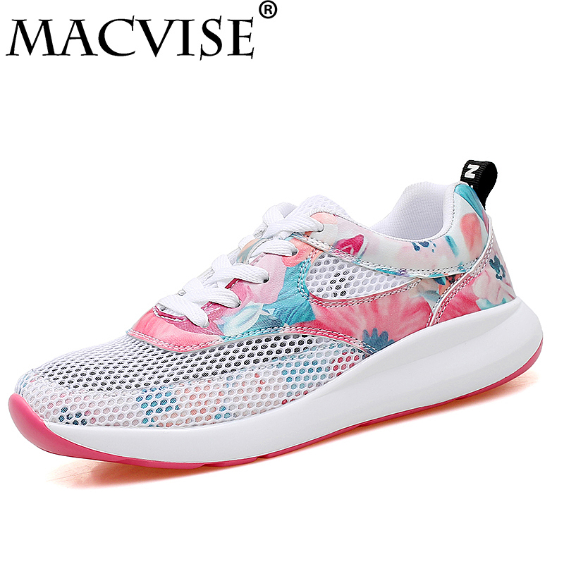 New Fashion Women Light Sneakers Summer Breathable Mesh Female Cheap Casual Shoes Lady Walking Outdoor Comfortable Women Shoes