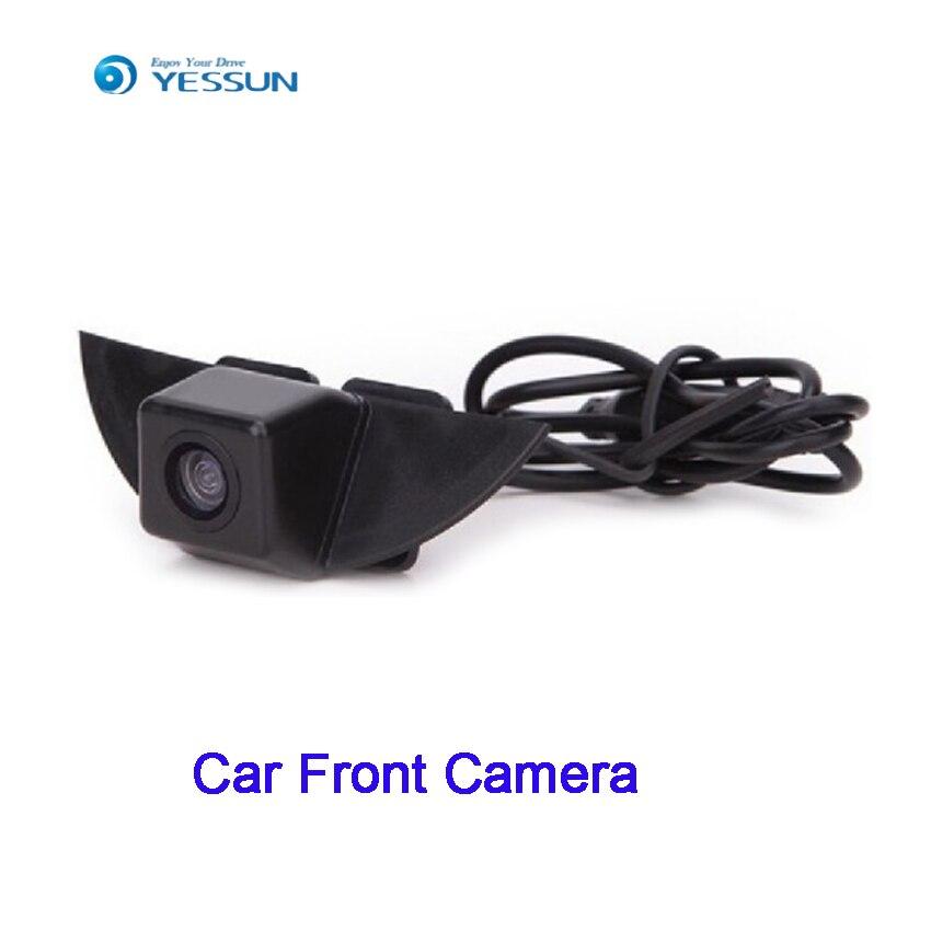 YESSUN CCD emblème avant de voiture caméra Logo vue caméra pour Nissan Qashqai pour Volvo 4 S boutique haute qualité voiture hd caméra frontale