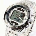 Newest Brand Design Solar Powered LED Digital Quartz Wristwatches Men 30M Waterproof Fashion Sports Military Dress Watches