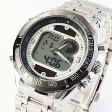 Newest Brand Design Solar Powered LED Digital Quartz Wristwatches Men 30M Waterproof Fashion Sports Military Dress Watches
