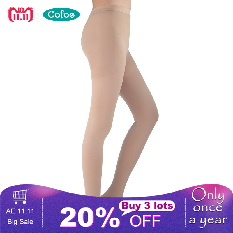 A Pair Medical Varicose Veins Socks 15-21mmHg Pressure Level 1 Pantyhose Socks Varicose Veins Sock Compression Socks Health Care цены