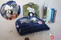 candice guo! plush toy giraffe monkey elephant lion zebra koala totoro bubu bear soft cushion blanket birthday Christmas gift 1p