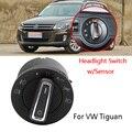 Авто головка/Foglights контроллер переключатель света сенсор модуль для VolksWagen Tiguan