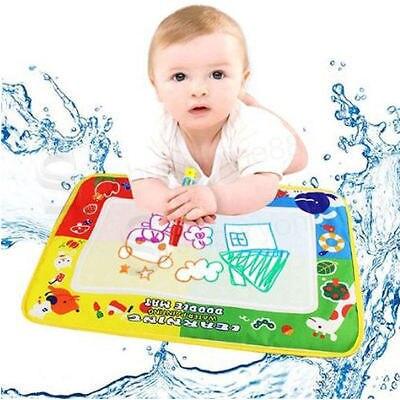 29X19cm 4 color Mini Water Drawing Mat Aquadoodle Mat&1 Magic Pen/Water Drawing board/baby play mat