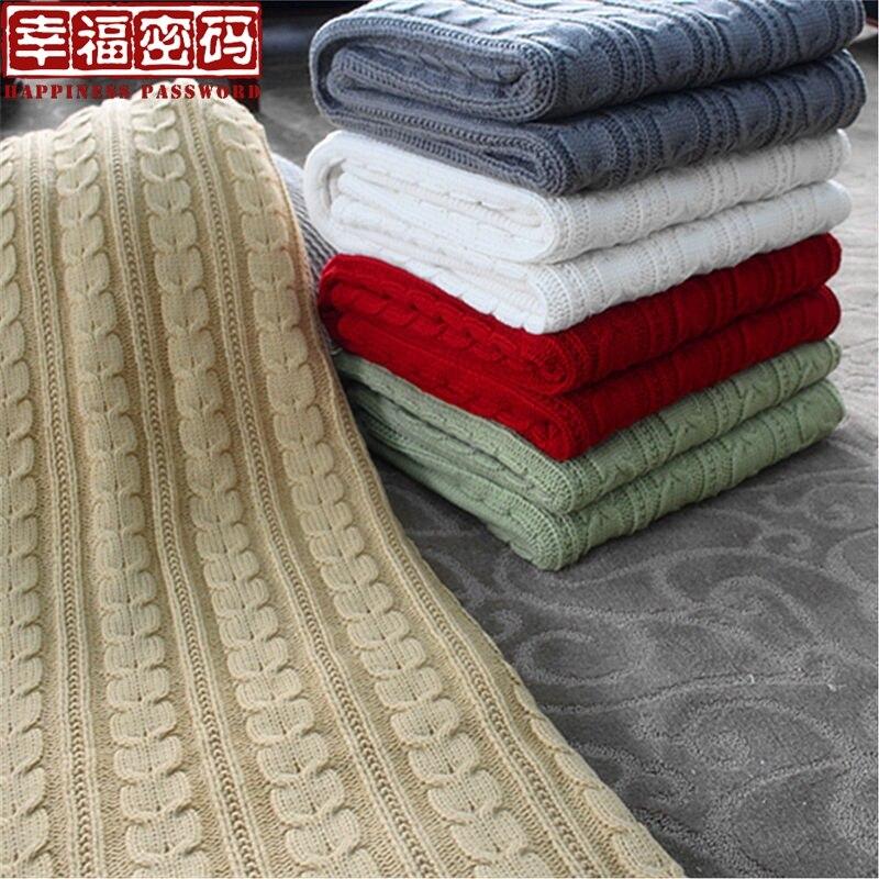 Automne et hiver tricoté décontracté berbère couverture en molleton couverture de voiture cape couverture pour enfants
