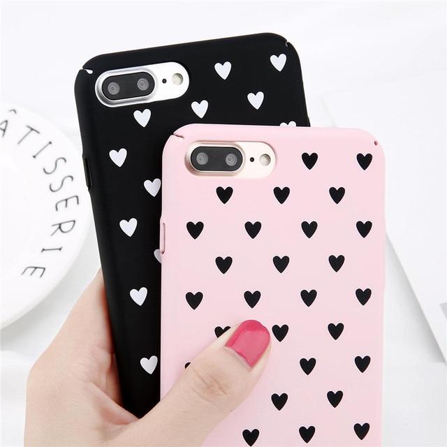 heart iphone 8 plus case