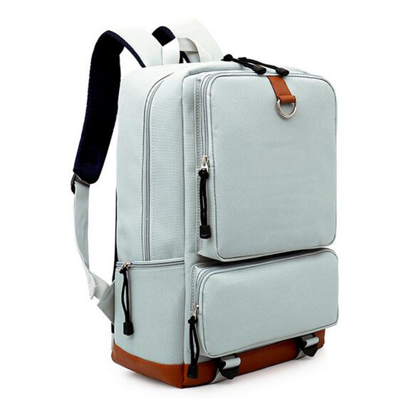 b90b596780 Leaper Canvas Backpack Women School Bags For Teenagers Laptop Men Backpack  Travel Fashion Student College Designer Backpack-in Backpacks from Luggage    Bags ...