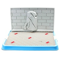 New Design Mesh Potty Pee Toilet Cat Dog Pet Toilet Tray Indoor House Litter Tray Puppy