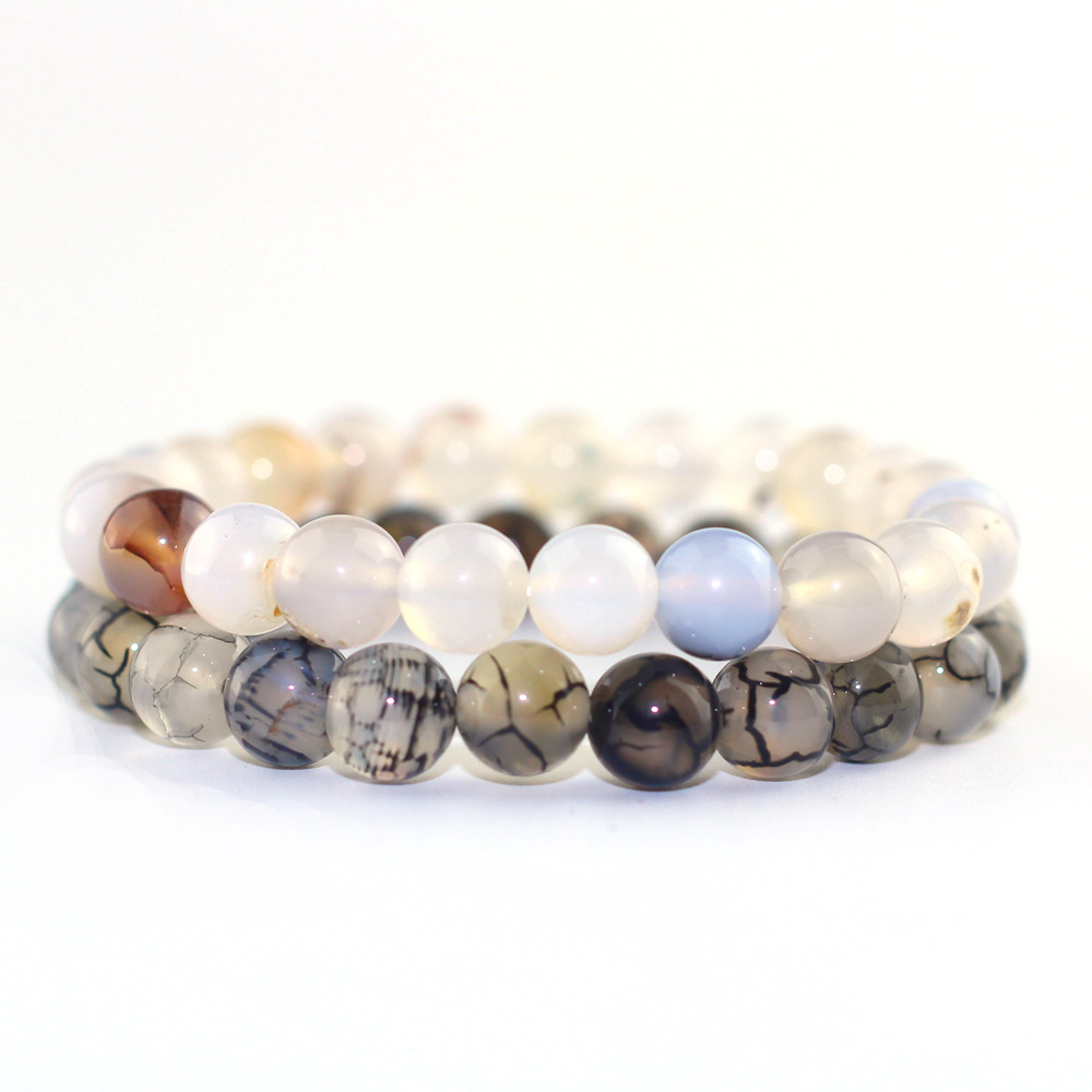 Natural Stone Couple Bracelet For Him And Her Beads Bracelets Gift Simple Fashion Jewelry