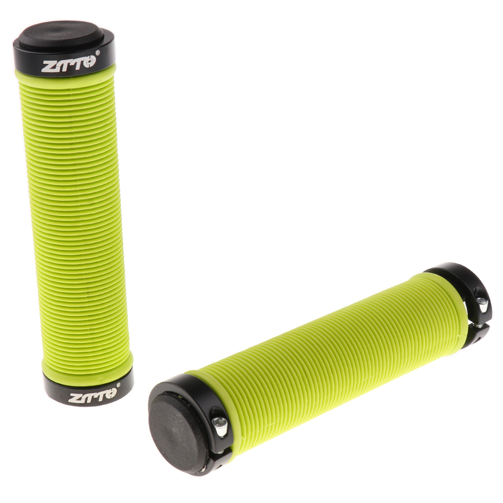 Bicycle Parts MTB Bike Handlebar Grips Silicone Gel Lock on Anti slip Bicycle Grips Ends 13cm*22mm Black/Red/Green/Yellow