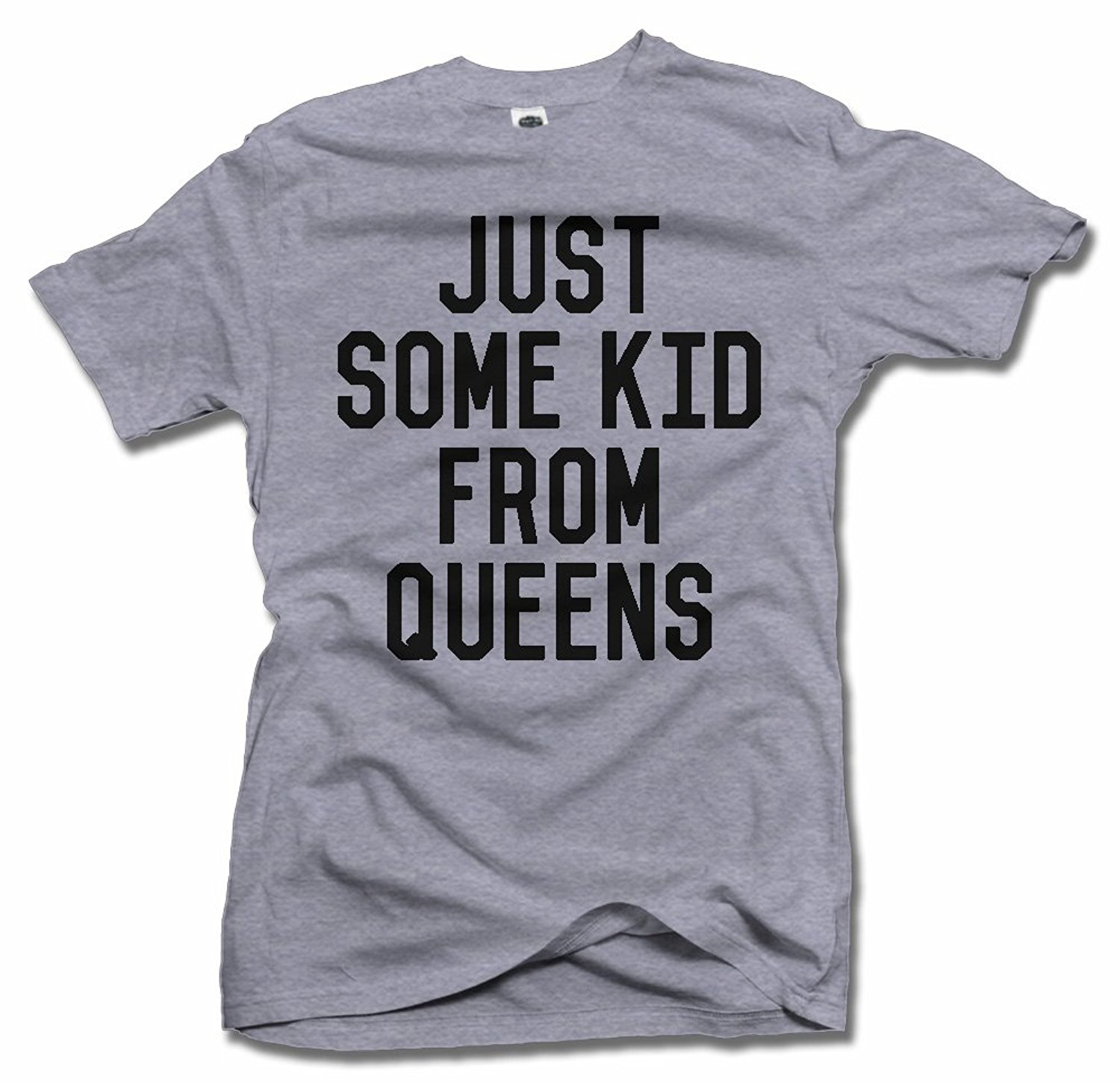 T shirt design queens ny - Just Some Kid From Queens Gold Man T Shirt China Mainland