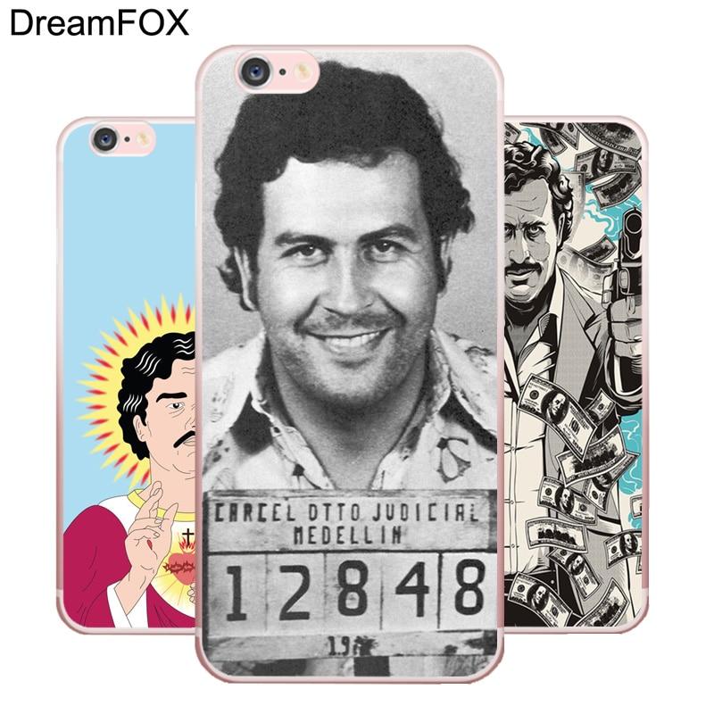 L218 Pablo Escobar Soft TPU Silicone Case Cover For Apple iPhone X 8 7 6 6S Plus 5 5S SE 5C 4 4S