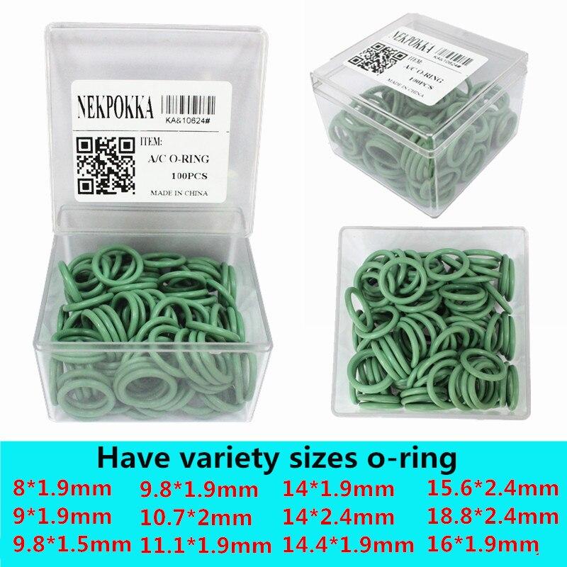 NBR резиновая уплотнительное кольцо комплект, высокая термостойкость уплотнительное кольцо для автомобильной кондиционер, запечатанных уп...