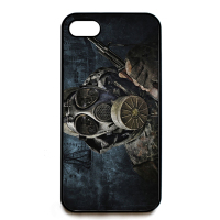 Sci Fi Advancements Human Gas Mask Jpg Fashion Cell Phone Case Cover For Iphone 4 4s