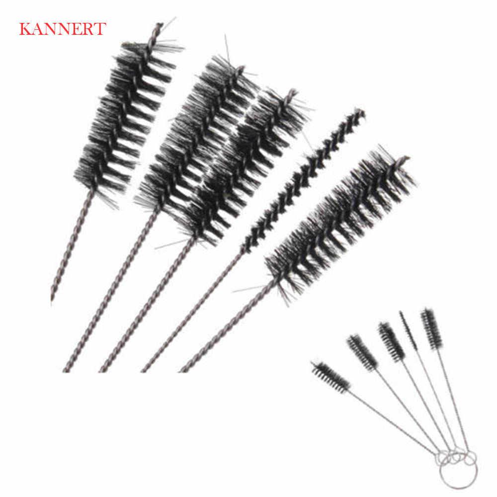KANNERT 1 Set/5 stks Tattoo Reinigingsborstel Kit Tip Voor Tube Machine Grip Airbrush Spuitpistool