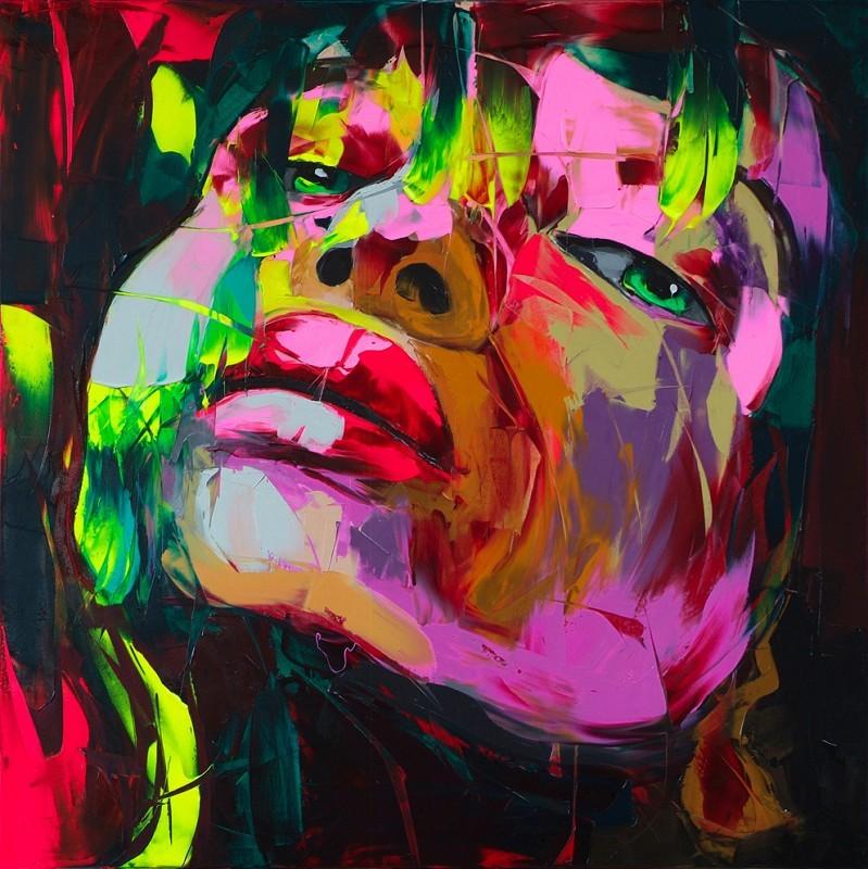 Indah Dinding Gambar Keren Gadis Gambar Portrait Lukisan Minyak