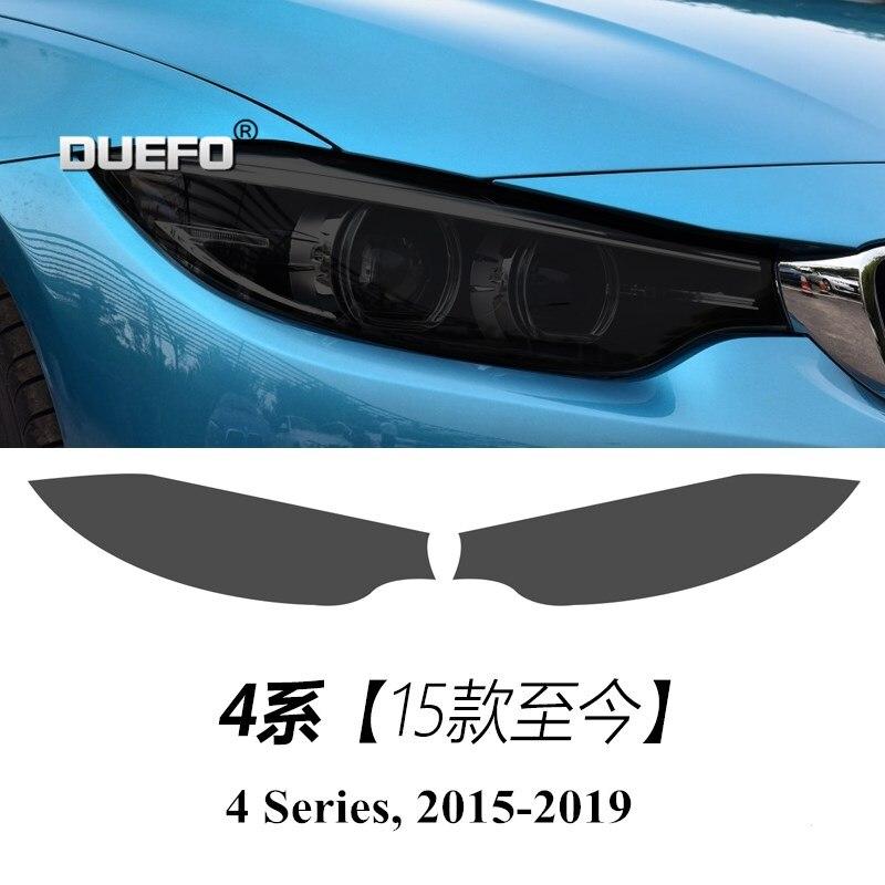 NEW Automobile Headlights Refitting Film TPU Black Sticker Cover Protective For BMW GT 2 3 4 5 7 Series X1 X3 X4 X5 X6 Sticker