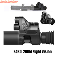 PARD NV007 IR Rifle Night vision monocular Telescope Infrared Enhanced for riflescopes Sight Quick disassembly shoot picture