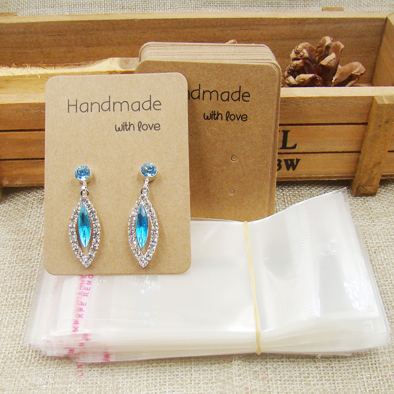 Us 5 94 15 Off Whole Diy Jewelry Earring Cards