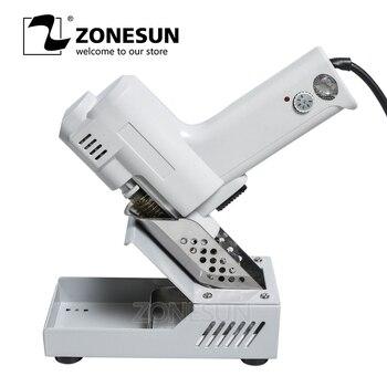 ZONESUN S-993A Electric Solder Sucker Vacuum Desoldering Pump Gun De-solder Gun