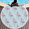 Round Patterned Beach Towel - Cover-Up - Beach Blanket 7
