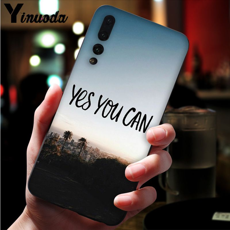 Image 4 - Yinuoda Far mountain sea hot air balloon and light printing Black Phone Case for Huawei Mate10 Lite P20 Pro P10 Plus Honor 9 10-in Half-wrapped Cases from Cellphones & Telecommunications