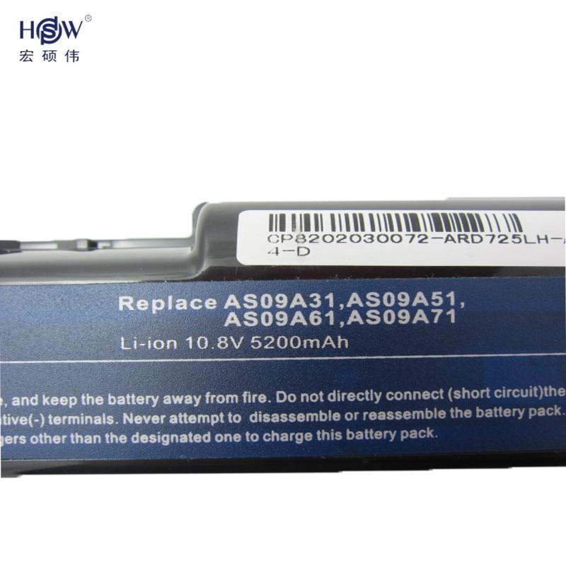Batería portátil HSW 6cell para Acer Aspire 5732 4732Z 5516 5517 - Accesorios para laptop - foto 3