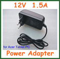 12 v 1.5a carregador de bateria para tablet acer iconia tab w3 w3-810 a100 A500 A501 A101 A200 A210 A211 para Lenovo MIIX 10 MIIX2 10