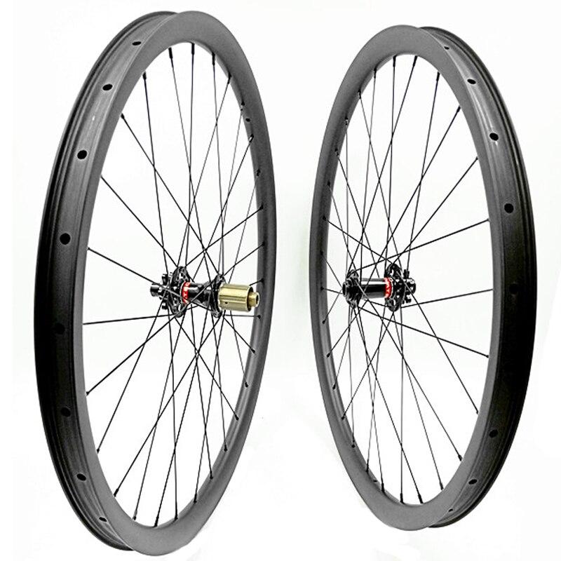29er mtb wheelset D791SB/D792SB boost 110x15 148x2 bicycle wheels 35x25mm tubeless rodas 29 carbon mtb bike wheels