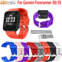 Watch Band Strap Bracelet For Garmin Forerunner 35 /30 Replacement Belt Wrist 30 /35 Bands with Tool Screws