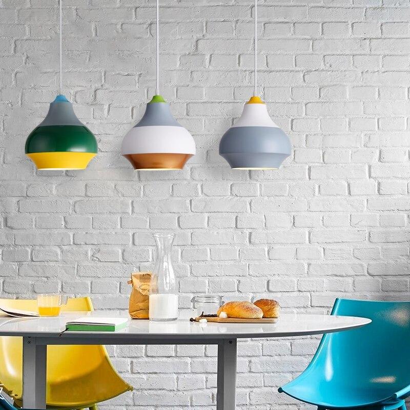 Modern Nordic Pendant Light Indoor Hanging Drop Light Contemporary Suspension Pendant Lamp Restaurant Dining Pendant Light (8)