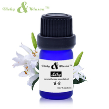 ФОТО vicky&winson lily essential oil 5ml 100% pure natural aromatherapy oil shrinking pores oil control skin tightening vwxx51