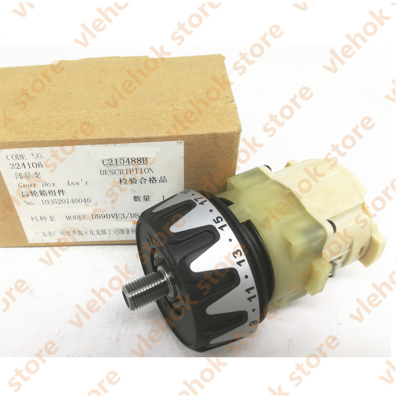 Original Reducer GEAR BOX ASS'Y 324106 324719 For HITACHI DS9DVF3 DS12DVF3 Drill Machine Power Tool Accessories Electric tools