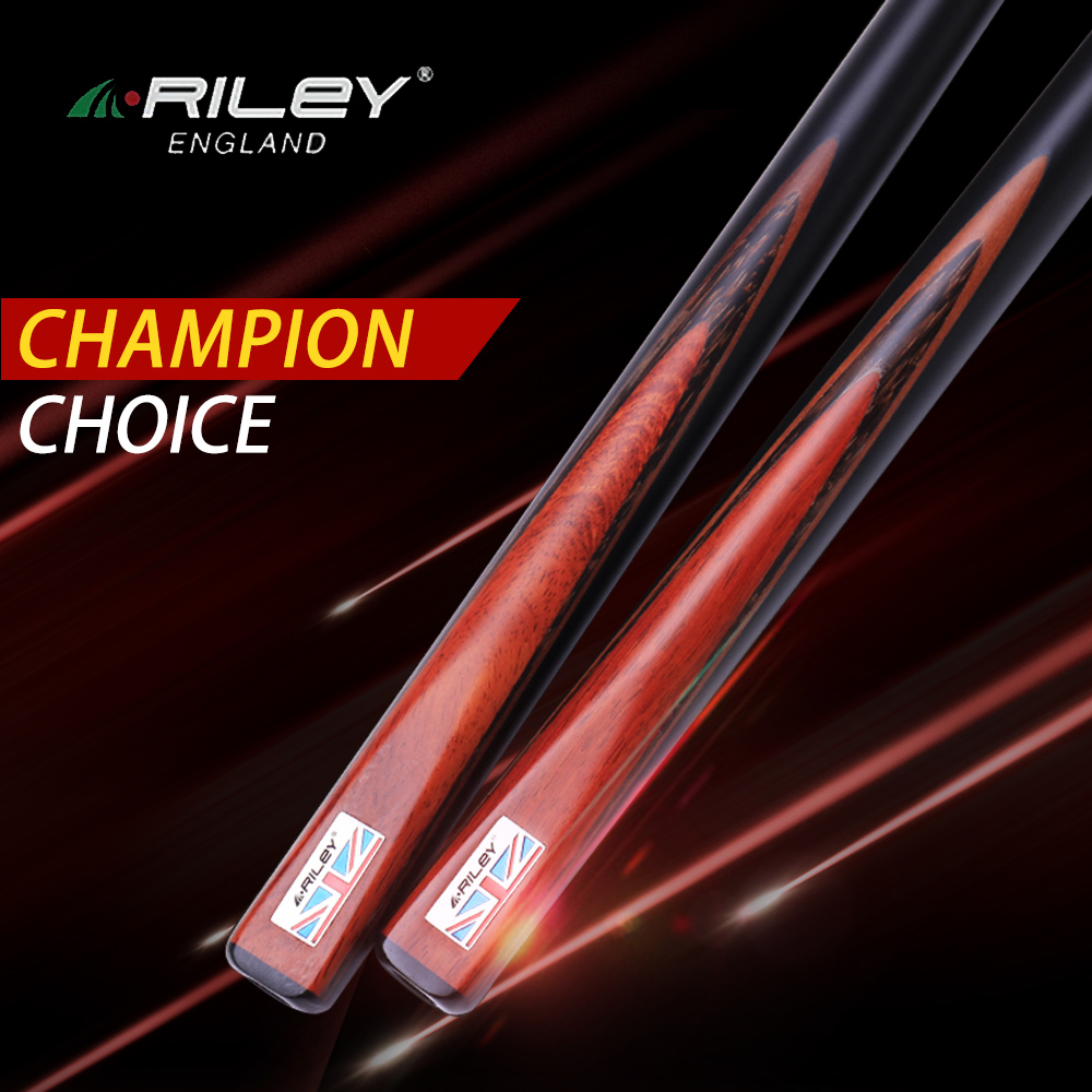 RILEY RWEST301 Kit de queue de billard queue de billard 9.5mm/9.8mm pointe professionnelle fait main une pièce billard billard