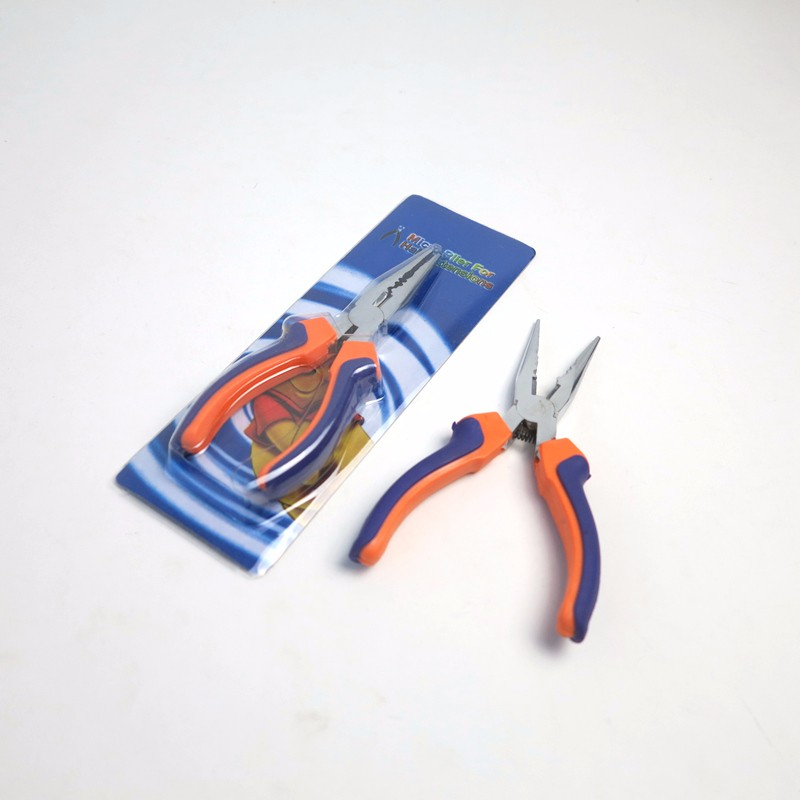 We supply Originea Orange Blue Color Steel pliers with 3 holes for hair extension Micro loop tool hair pliers for hair beads nano rings