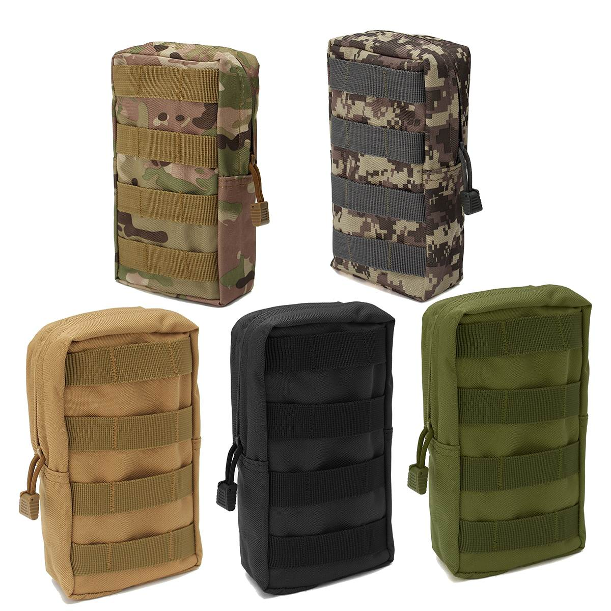 NEW Nylon Tactical Molle Waist Bag Medical First Aid Utility Emergency Pouch Outdoor Storage Bag Emergency Kits tactical 1000d molle utility edc magazine bag waist bag dump drop pouch men outdoor sports medical first aid pouch