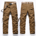 Men's casual trousers overalls male military men  multifunction Pocket pants high quality plus size 28-40