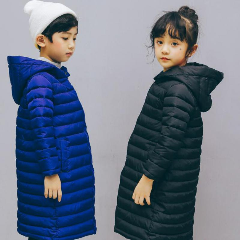 2018 Boys Girls Winter Coat Children Jackets Cotton Parkas Kids Winter Outerwear Coats Warm Jacket Toddler Boys Girls Coat 10 12 цена