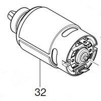 Aletler'ten Elektrikli Alet Aksesuarları'de Orijinal Motor Makita 629103 7 DJR145Z