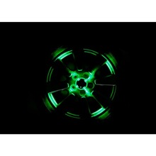 Solar Colorful Wheel Car Lights Automobiles LED Decorative Wheels Night Vision Accessiories